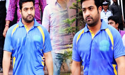 NTR plays as a cricketer in 'Jai Lava Kusa'!