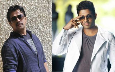 Naa Peru Surya unit caning scenes on Allu Arjun and action hero Arjun