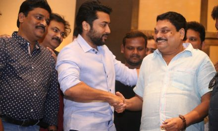 Hero Surya Conveyed Birthday Wishes To Senior Journalist B.A.Raju